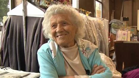 100-year-old woman works 11-hour days, 6 days a week: 'I don't believe in retirement' | Seniors: Learning is Timeless | Scoop.it