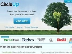 Crowdfunding platform CircleUp launches with $1.5M   Yellow Boat Social Entrepreneurism   Scoop.it