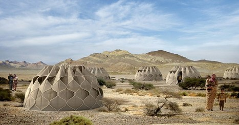 Beautiful, Functional Refugee SHELTERS Provide More Than Just Temporary Housing | VEILLES & VISITES DE CHANTIERS | Scoop.it