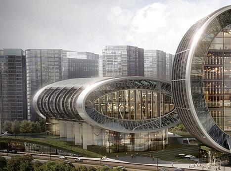 Luminous Moon-Gate Taichung City Cultural Center | The Design Inspiration | Architecture MIPIM | Scoop.it