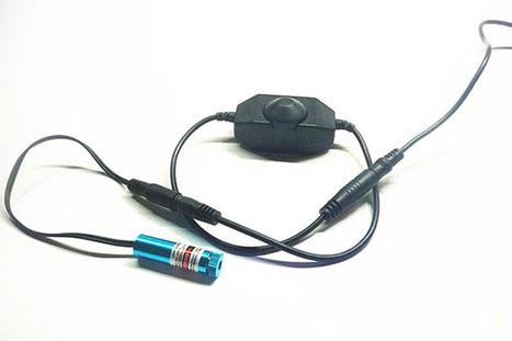 Modulo laser 100mw blu viola multifunzione | puntatore laser verde | Scoop.it