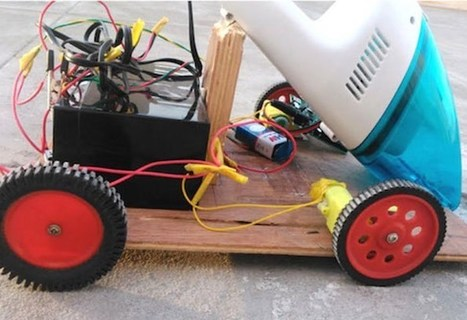 DIY Robot Vacuum Cleaner Built Using Arduino (video) - Geeky Gadgets | Raspberry Pi | Scoop.it