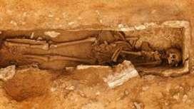 Roman skeleton with 'bent feet' found at Dorset quarry - BBC News | LVDVS CHIRONIS 3.0 | Scoop.it
