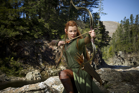 'Hobbit': Tolkien purist Evangeline Lilly talks new elf Tauriel - Los Angeles Times | 'The Hobbit' Film | Scoop.it