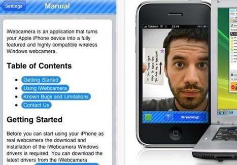 Para transformar tu Android o iPhone en una webcam | Recull diari | Scoop.it