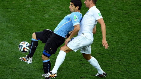 World Cup 2014: Uruguay Defeats England, 2-1 - New York Times | FIFA World Cup Brazil 2014 | Scoop.it