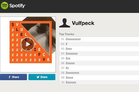Vulfpeck Stands to Earn More Than $18K From Spotify for Silent Album | Musicbiz | Scoop.it