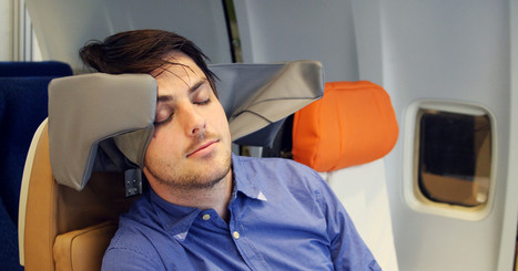 A Clever Headrest That Could Make Flying Actually Bearable | Start a Website | Scoop.it