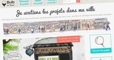Bulb in Town, l'art du financement participatif local | Economie ... | FNCV - Les Vitrines de France | Scoop.it