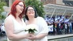 Mock gay marriage takes place outside Scottish Parliament - BBC News | Marriage Equality in Scotland | Scoop.it