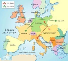 El blog de Paco: Mapa de Europa antes de la 1ª Guerra Mundial | Sociales Aarón Pérez | Scoop.it