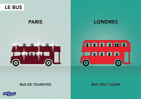 Paris vs Londres : les capitales s'affrontent en images | Paris ZigZag | Insolite & Secret | E-Tourisme et E-candidatures ! | Scoop.it
