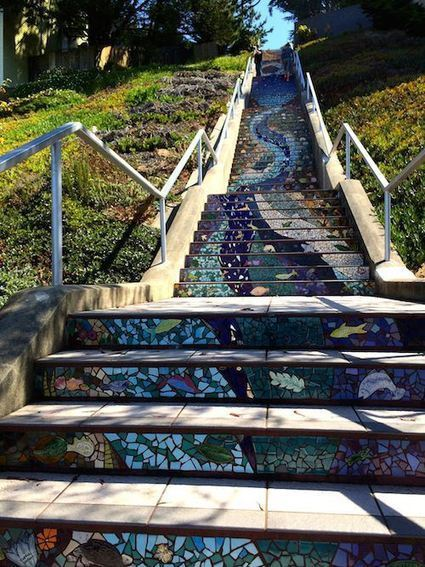 Hidden Garden Steps | Lois Reynolds Mead | Hidden Garden Steps | Scoop.it