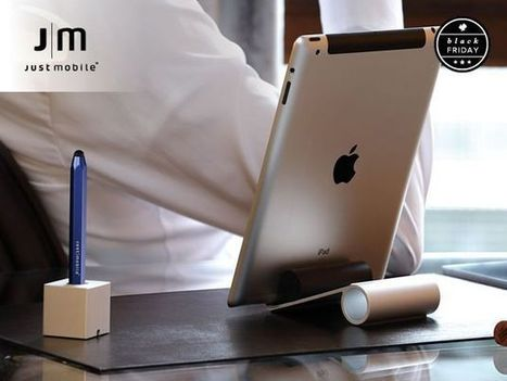 The Slide Stand And The AluPen Stylus For iPad Is Style Personified #BlackFriday [Deals] | Macwidgets..some mac news clips | Scoop.it
