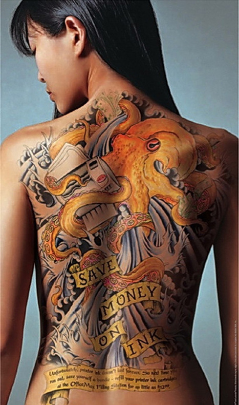 50 Awesome Back Tattoo Ideas | DEF | Scoop.it