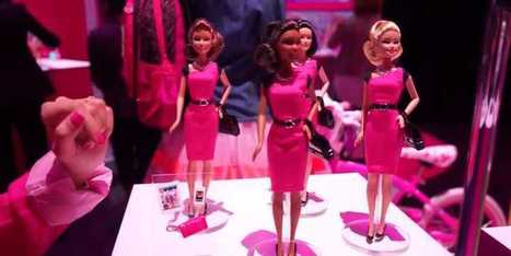 The Newest Barbie Is An Entrepreneur With A Tiny Tablet And Smartphone | Mode et fashion | Scoop.it