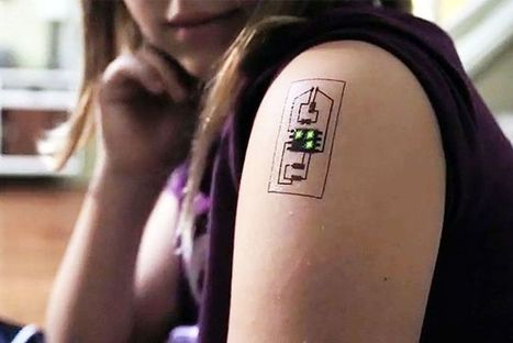 How a Tattoo Can Tell You More About Your Health | Digital Health | Scoop.it