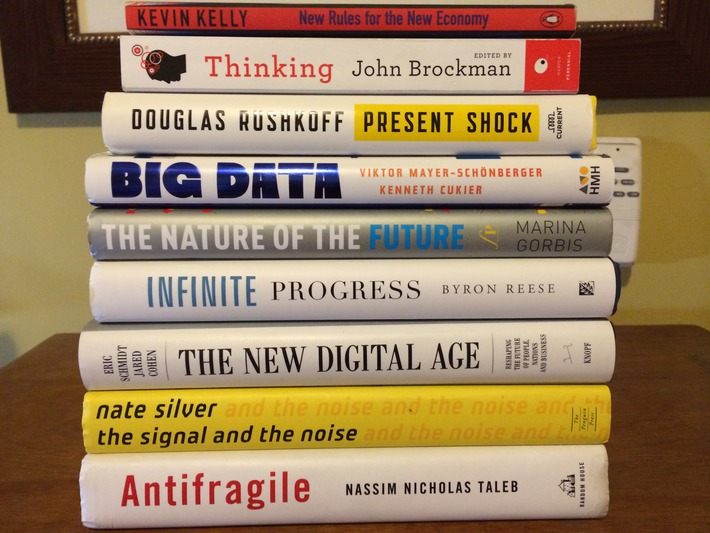 A Futurist's Top 10 Books for 2013 | Megatrends | Scoop.it