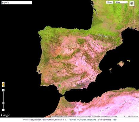 Geomática: Portal en línea del cambio global forestal | Formación | Scoop.it