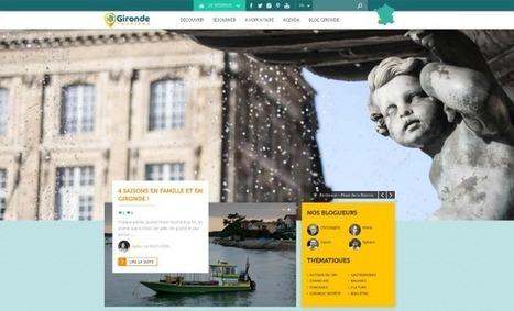 Gironde Tourisme lance un nouveau site pour coordonner tous les acteurs du secteur | Actu Réseau MOPA | Scoop.it