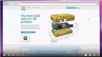 A Wonderful Tool for Creating and Printing 3D Models ~ Educational Technology and Mobile Learning | iPads, MakerEd and More  in Education | Digital Storytelling Tools, Apps and Ideas | Scoop.it