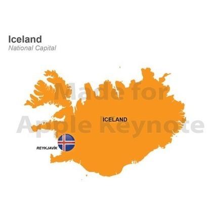 Map of Iceland Mac Keynote Presentation | Apple Keynote Slides For Sale | Scoop.it