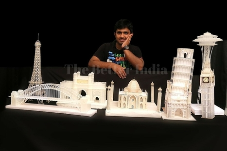 These Miniature Models Are Created Using - Hold Your Breath - Pen Refills! | Francois' Scale Modeling Gazette | Scoop.it