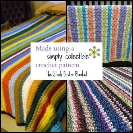 Stash Buster Blanket Customer Appreciation Pictures - Simply Collectible | FREE Crochet Patterns | Scoop.it