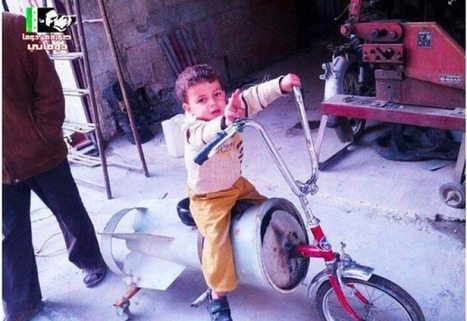 That Bike Is the Bomb: Repurposed Weapons of War in Syria | Coveting Freedom | Scoop.it
