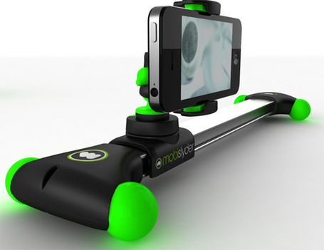 "Mini-Dolly For Your iPhone: Glidetrack Launches Mobislyder for Iphone, GoPro, GH2 and other Compact Camcorders | ""Cameras, Camcorders, Pictures, HDR, Gadgets, Films, Movies, Landscapes"" 