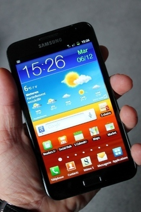 Test du Samsung Galaxy Note : Innovation et double jeu   mlearn   Scoop.it