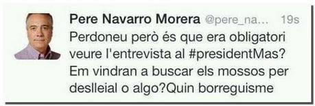 Un tuit le cuesta el empleo al community manager de Pere Navarro - Cadena Ser   Marketing Digital   Scoop.it