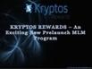 View Kryptos Reward Slide at Slidee .com | Business | Scoop.it