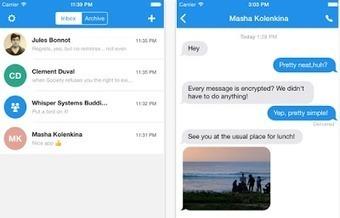 Signal : l'app mobile qui chiffre vos communications de bout en bout !   Info Magazine   Scoop.it