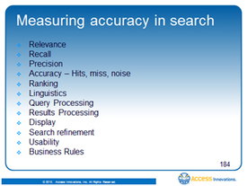 Measuring Accuracy in Search : TaxoDiary | Resources for DNLE for 21st Century | Scoop.it