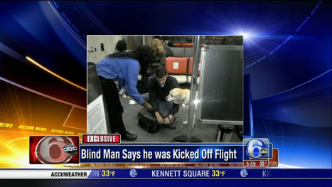 Flight Canceled After Passengers Protest Ejection of Blind Man | Collateral Websurfing | Scoop.it