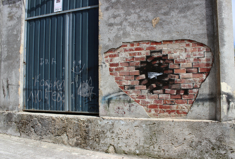 The Subtractive Canvases and Street Art of Pejac #art #streetart #painting #subtractive #surreal | Luby Art | Scoop.it