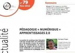 Le numérique change la pédagogie … à condition de changer la pédagogie ! | Digital Learning Invador | Scoop.it