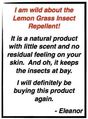 I am wild about the Lemon Grass Insect Repellent!   recycling   Scoop.it