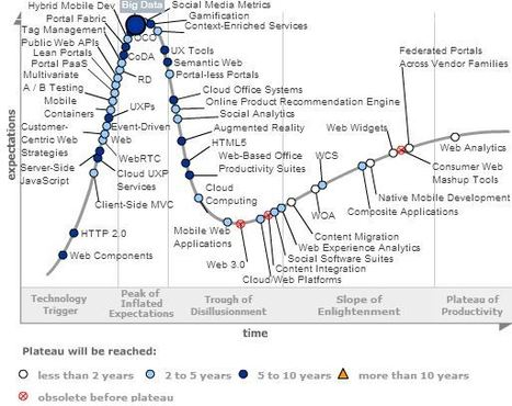 Hype Cycle for Web Computing, 2013 - Big Data | 1012ICT Part A | Scoop.it