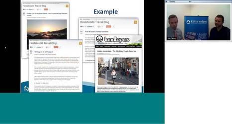 Building Relationships with Travel Bloggers - Failte Ireland Webinar | Social | Scoop.it