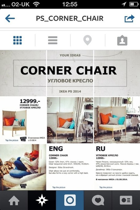 IKEA create a website within Instagram to showcase their new collection | Digital Brand Marketing | Scoop.it