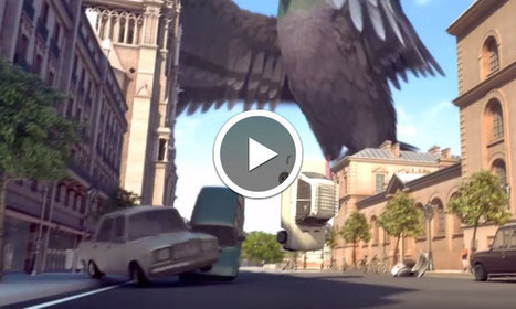 Douce Menace, le film d'animation qui s'amuse à détruire la ville de Paris à l'aide d'un pigeon géant | Remue-méninges FLE | Scoop.it