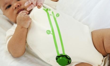 High-tech $100 onesie for babies includes built-in 'sleep sensor'   Kickin' Kickers   Scoop.it