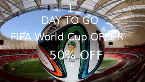 World Cup 2014 Brazil, Seasonal Offer for Websites/Mobile Apps Development | Web Development | Scoop.it