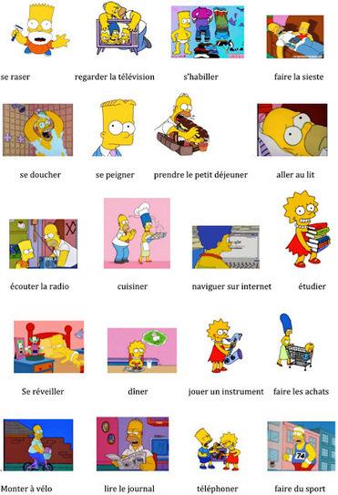 FLE en ESO: Les activités quotidiennes de la fa...   Grade 08 French Resources   Scoop.it