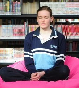 Students using meditation to fight stress | Counseling | Scoop.it