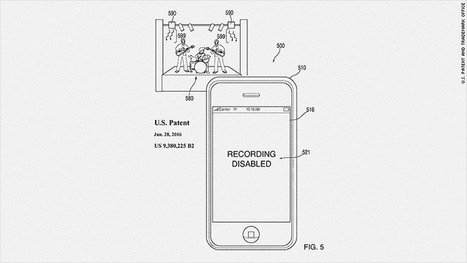 Apple patents technology to block your phone camera | Business Transformation | Scoop.it