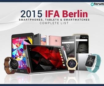 2015 IFA Berlin: Complete List of Smartphones, Tablets & Smartwatches | Maxabout Mobiles | Scoop.it