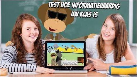 Geheim agent A.A.P. test hoe informatievaardig jouw klas is –... | ICT in de klas | Scoop.it